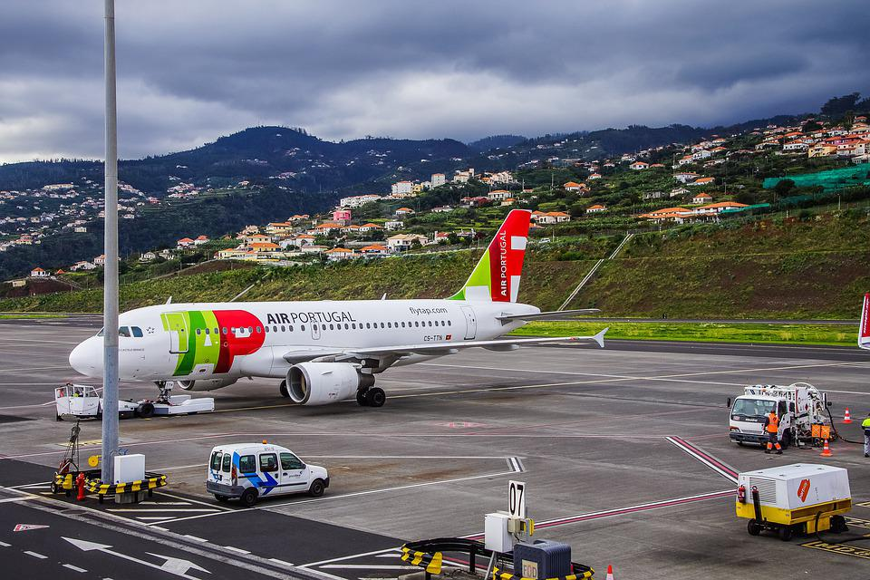 Madeira Airport in Portugal