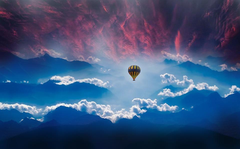 Reizen, Cielo, Ballon, Hemel, Vrijheid, Avontuur, Droom