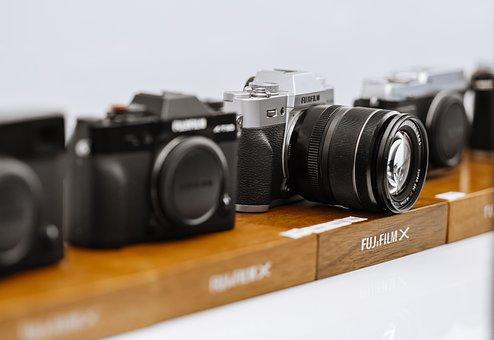 Camera, 色, 男, 黒, レンズ, Photography, 写真