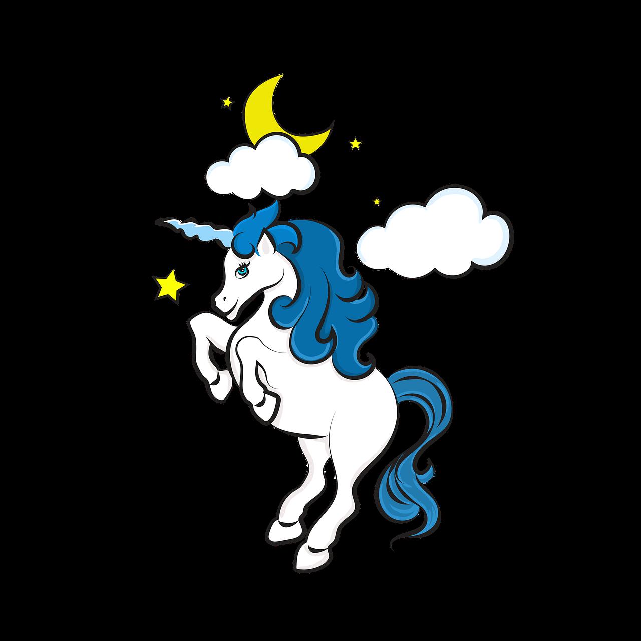 Unicorn Drawing Cute Free Image On Pixabay