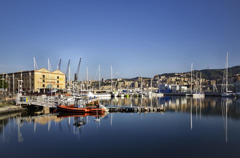 Genoa, The Old Port, Sea, Aquarium, Liguria, Water