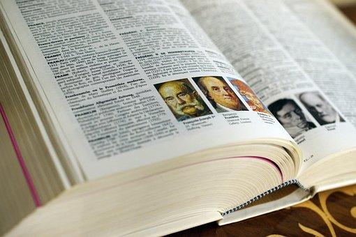 Une recherche dans le dictionnaire