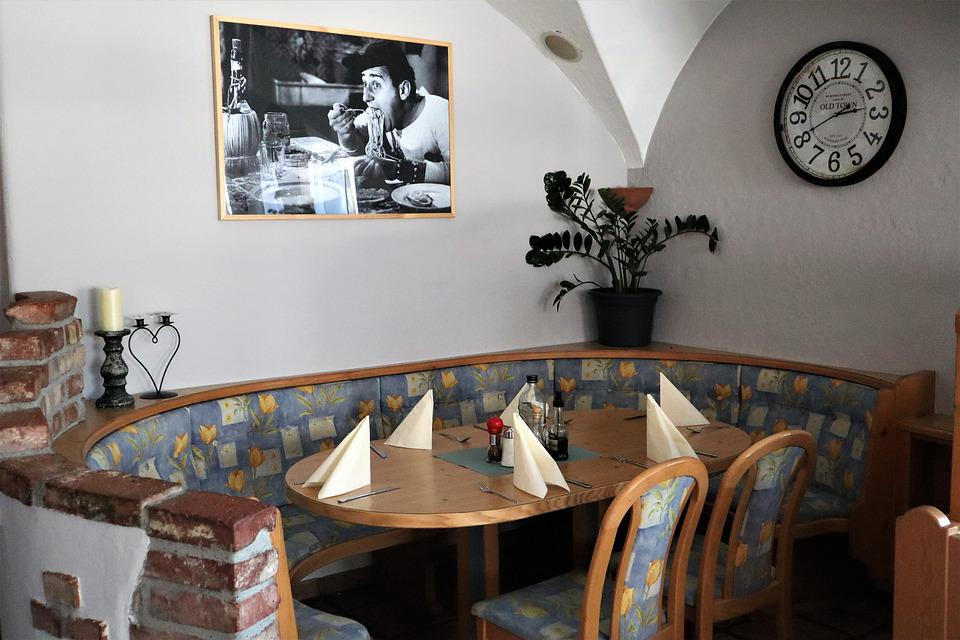 Eetkamer Tafel Met Bank.Eetkamer Restaurant Tafel Gratis Foto Op Pixabay