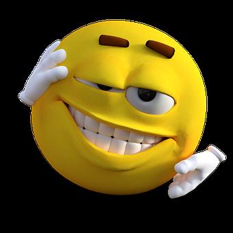 Smiley, Emoticon, Emoji, Gelb, Freude