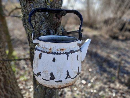 Maker, Old, Drink, Coffee, Pot