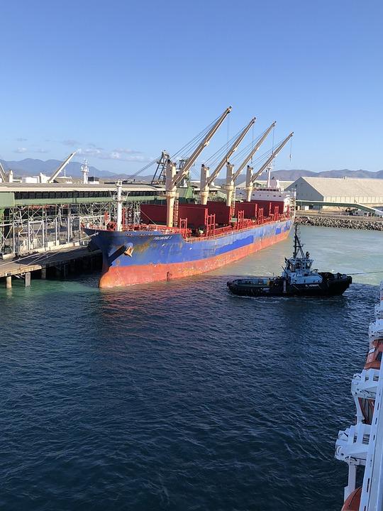 Puerto, Muelle, Marítimo, Comercio, Exportación