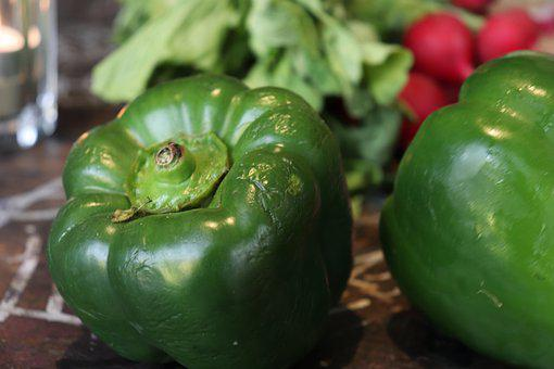 Paprika, Gemüse, Grün, Nachhaltig