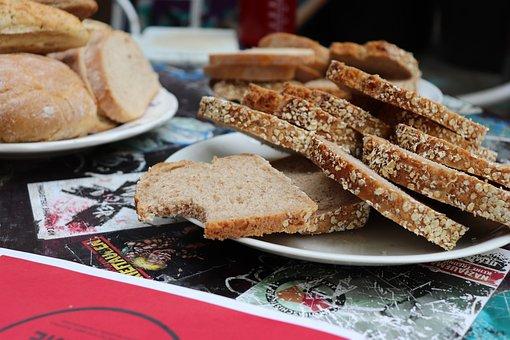 Brot, Teller, Brötchen, Nahrung, Bäcker