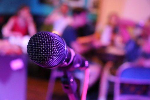 Mikrophon, Musik, Singen, Audio