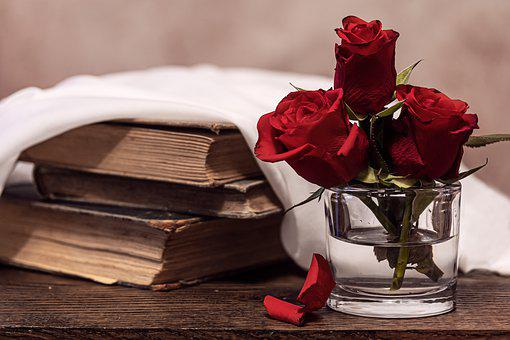 Roses, Red, Old Books, Wedding, Love,Know more about the days leading up to Valentine's day like Rose Day, Chocolate day and Anti-Valentine's day like break up day, slap day and more.