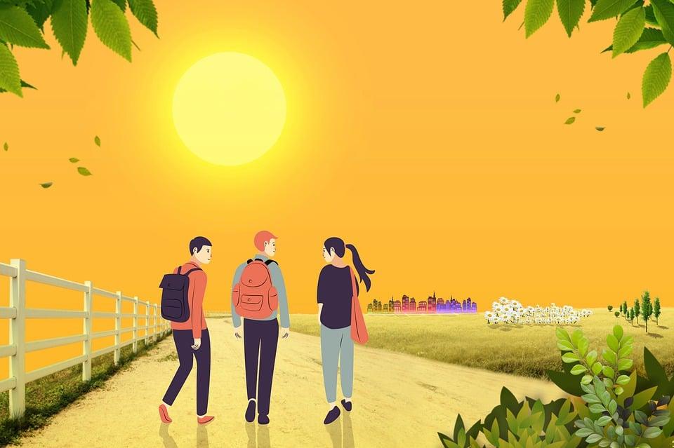 Fond D Ecran Dessin Anime Paysage Image Gratuite Sur Pixabay