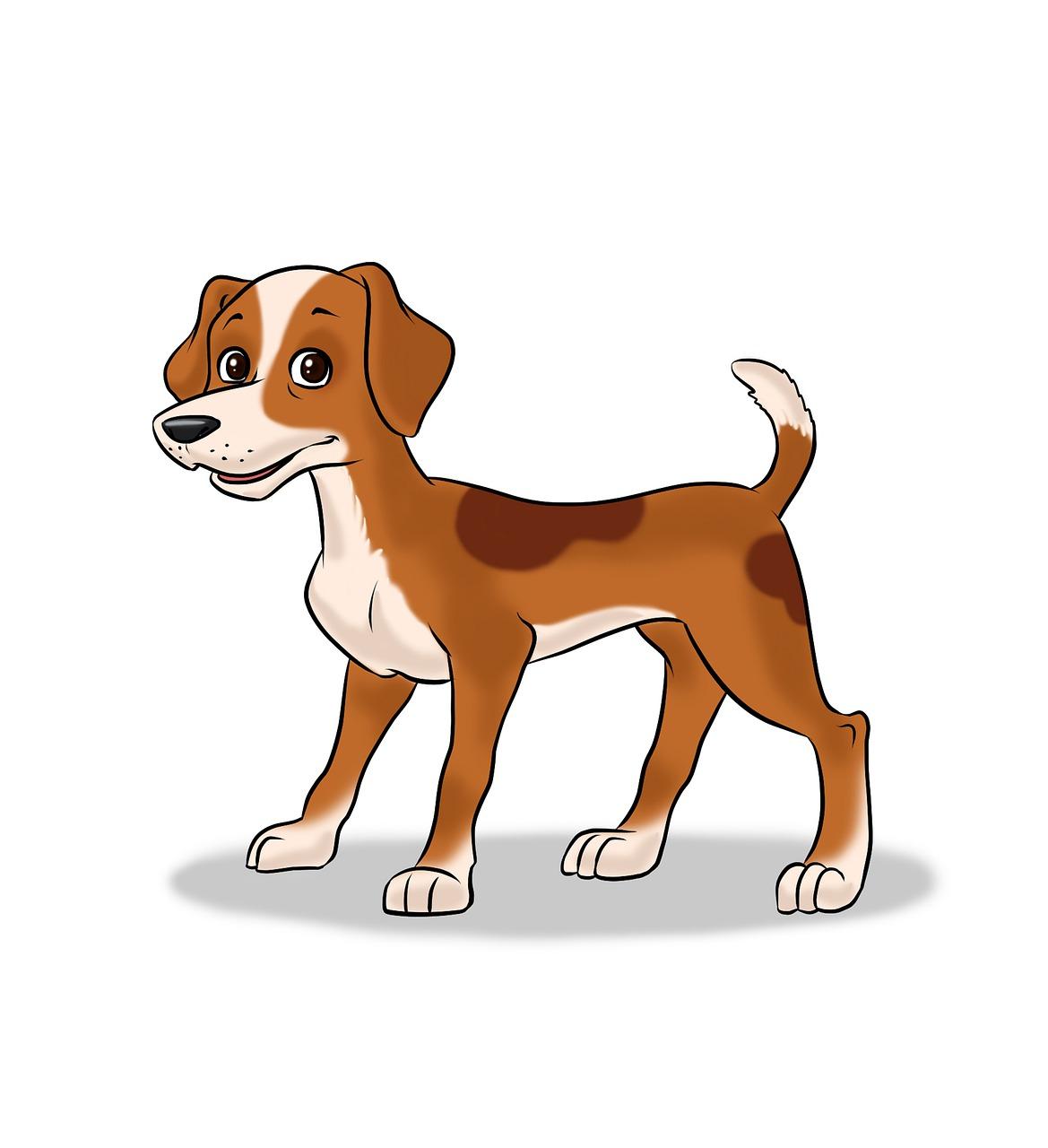 Anjing Kartun Ilustrasi Gambar Gratis Di Pixabay