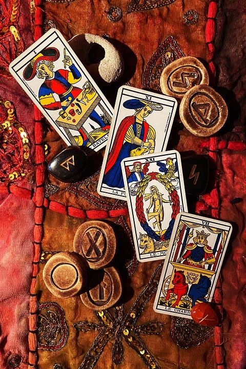 Cartes Tarot Divination Photo Gratuite Sur Pixabay