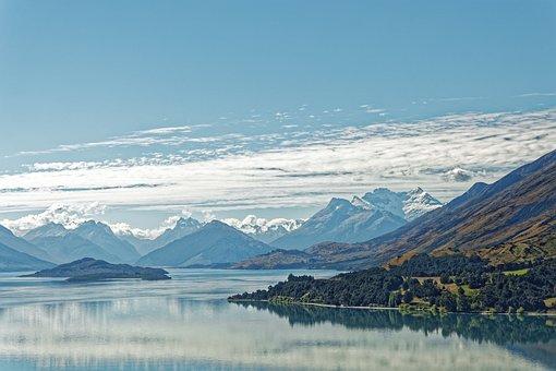 Nueva Zelanda, Lago Wakatipu, Lago