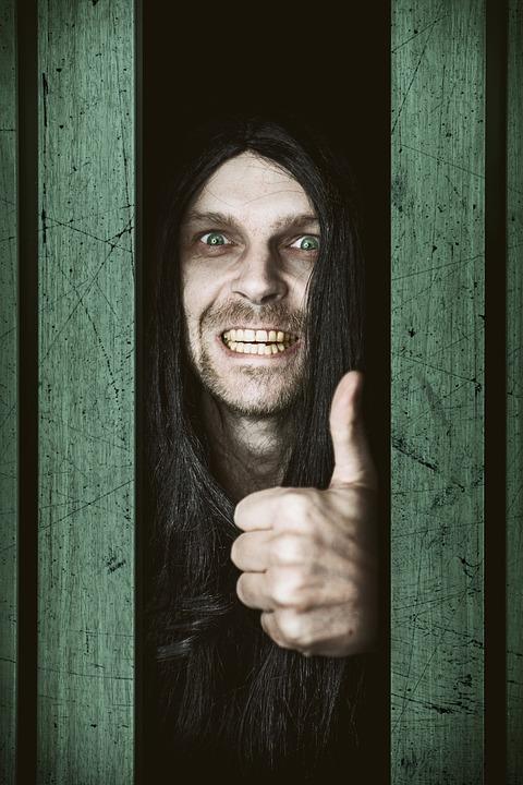 Mysterious, Man, Sarcasm, Open Door, Scary, Creepy