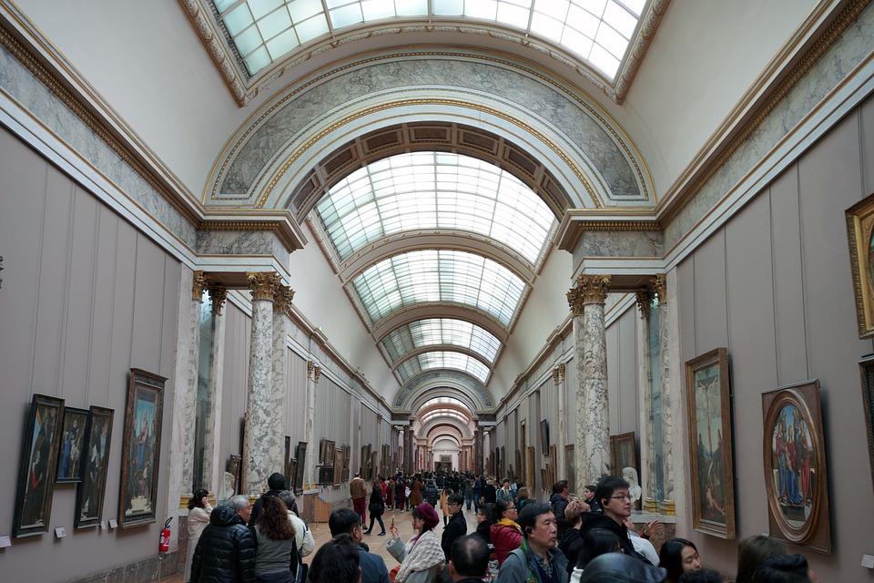 Musée Le Louvre Indoor - Photo gratuite sur Pixabay