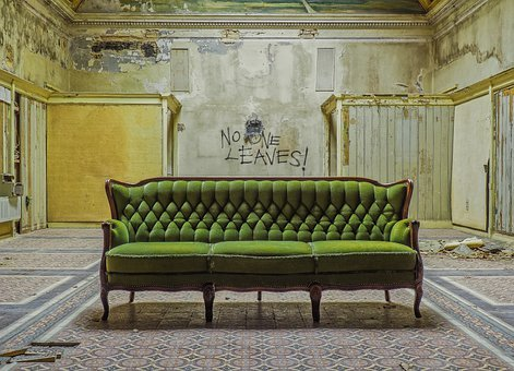 Lost Places, Sofa, Atmosphere, Decay