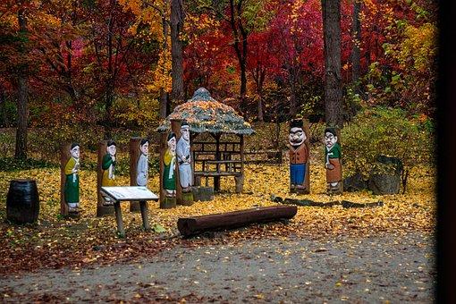 A Folk Tale, Long Ago, Story, Autumn