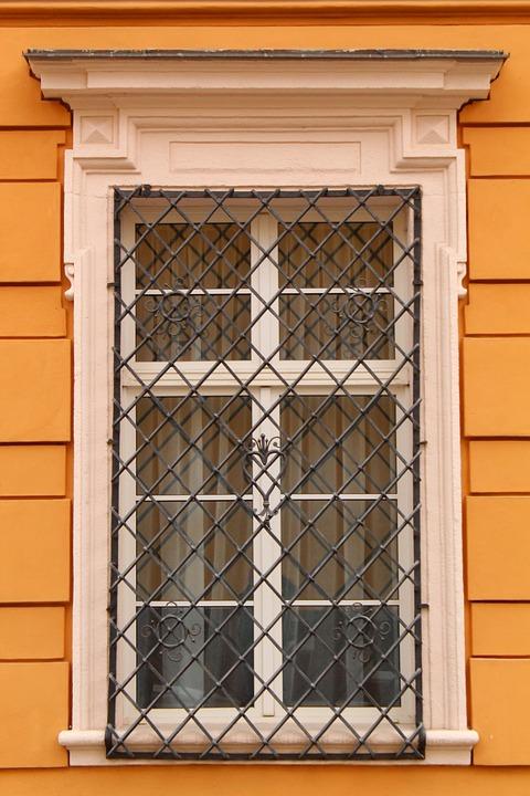 Jendela, Kisi Kisi, Teralis, Bangunan, Lama