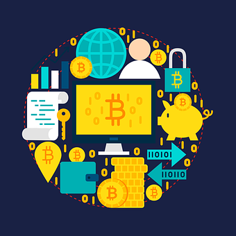Bitcoin, Soldi, Criptovaluta, Blockchain
