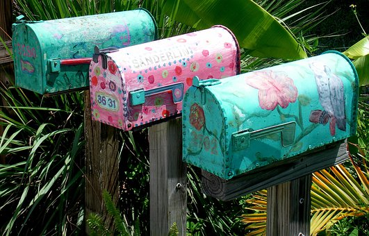 Mailbox, Usa, Florida, Post, Caribbean
