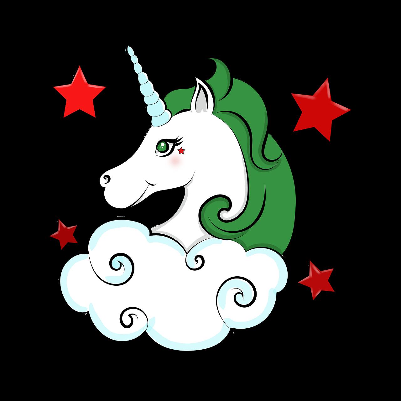 Drawing Unicorn Star Free Image On Pixabay