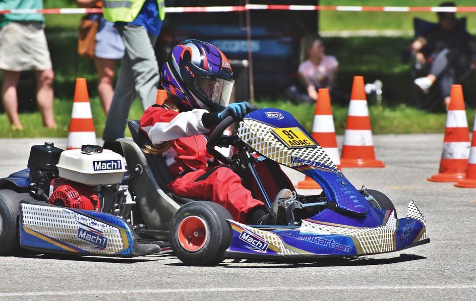 Go Kart, Go Kart Track, Racing, Race Car Driver