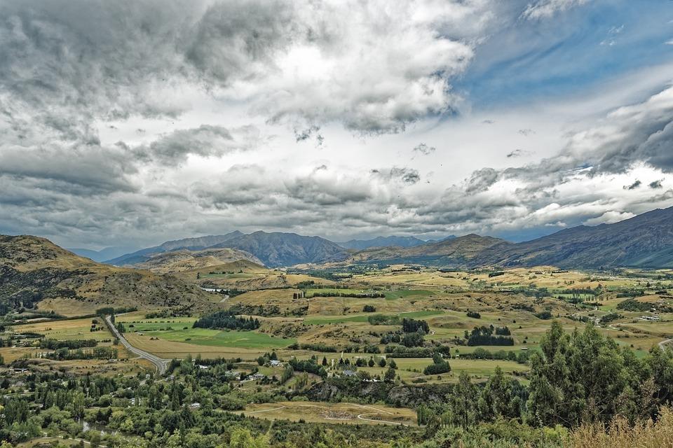 Nieuw Zeeland, Lake County Council, Bergen, De Natuur