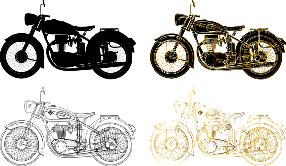 Motorcycle, Chopper, Bike, Drive, Hog