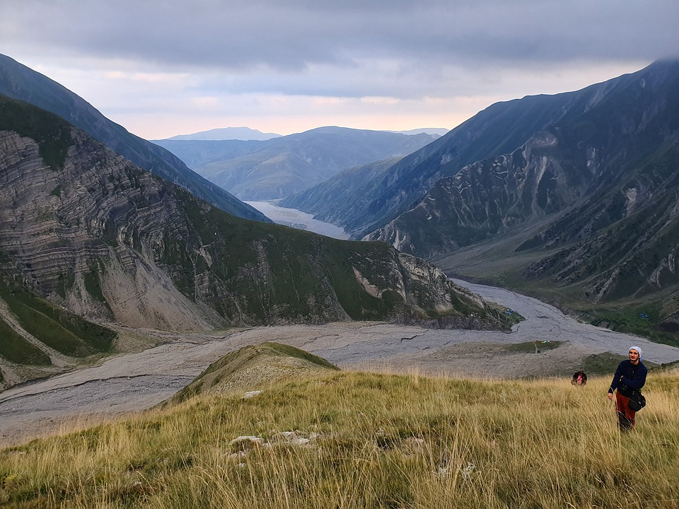 Hiking along Caucasus