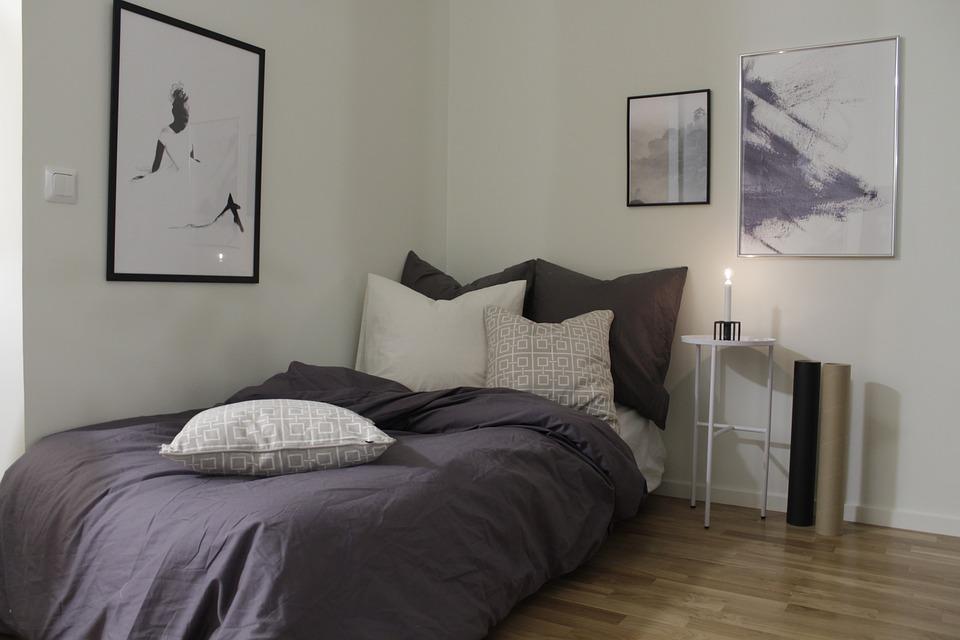 Легло, Спалня, Сън, Жена, Възглавница, Брой