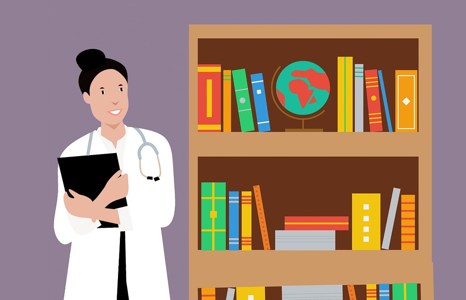 Professor, Library, Book, Doctor, Shelf, Store