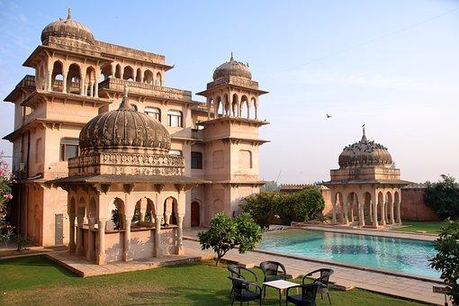 インド, アーキテクチャ, 宮殿, ホテル
