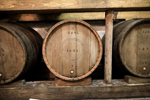 Barrel, Wooden Barrels, Barrels, Most