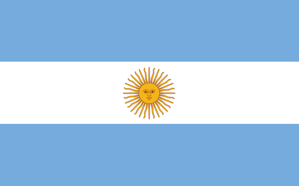Argentina Flag Country Free Vector Graphic On Pixabay