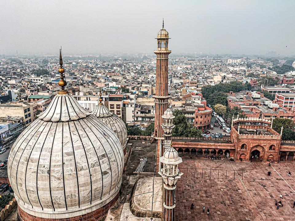 Delhi Jama Masjid Tower Inside - Free photo on Pixabay
