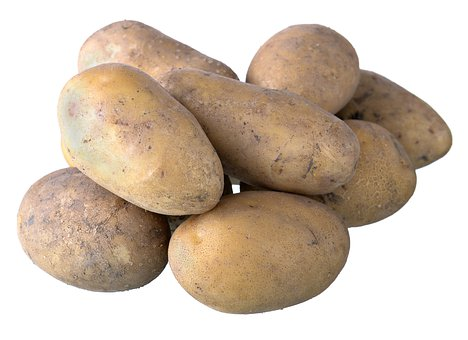 Fresh, Potato, Food, Nature, Healthy