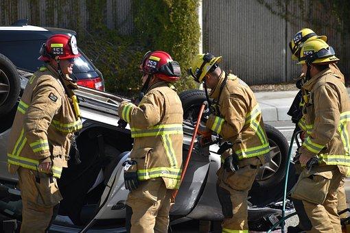 Accident, Car, Rescue, Firemen, 911, November 3, 2007 car crash