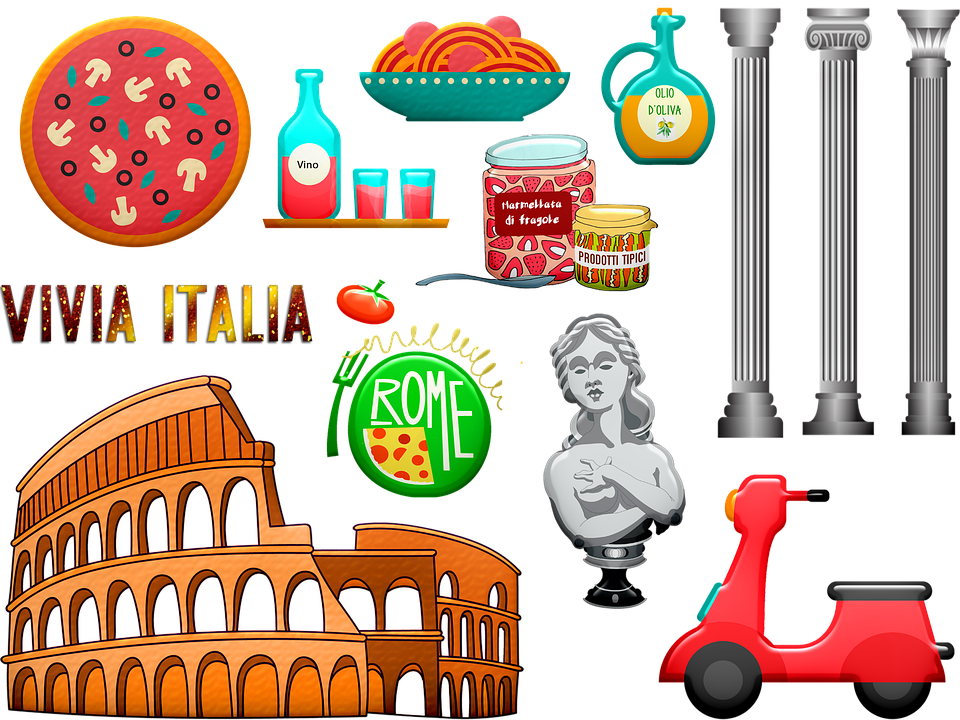 Rome, Italian, Colosseum, Architecture, Europe, Italy