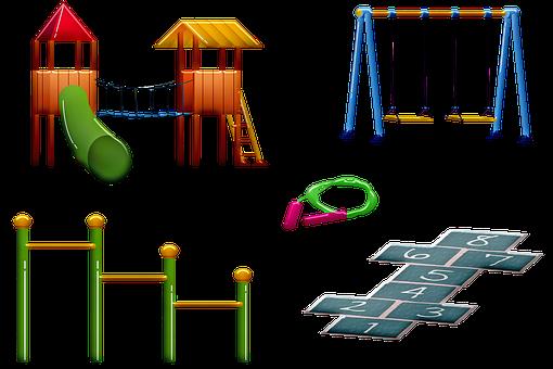 Plac Zabaw Dla Dzieci, Huśtawki