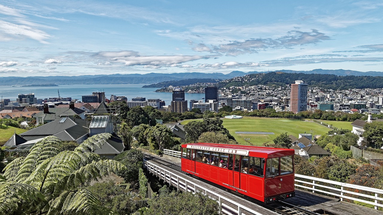 Wellington - the capital city of New Zealand