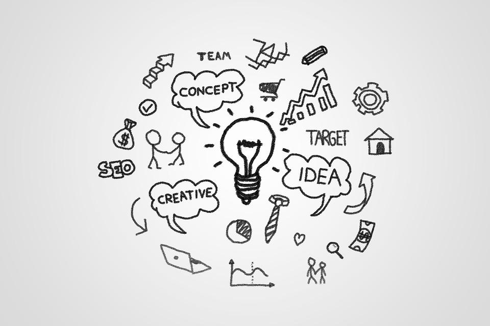 Бяла Дъска, Маркетинг, Идея, Концепция, Мисля