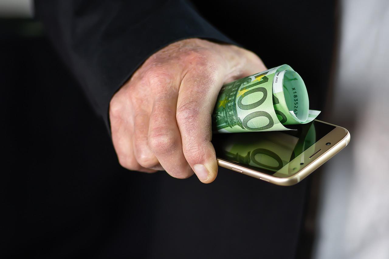 Smartphone Money Finance - Free photo on Pixabay