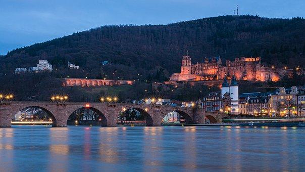 Heidelberg, Zámek, Historicky, Pevnost
