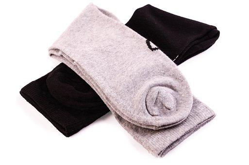 Clothing, White, Pair, Sock, Garment
