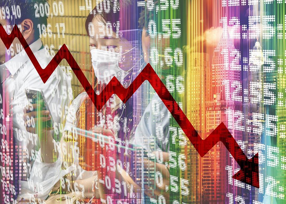 証券取引所, 金融危機, Covid-19, Coronavirus, ウイルス, 中国, パンデミック