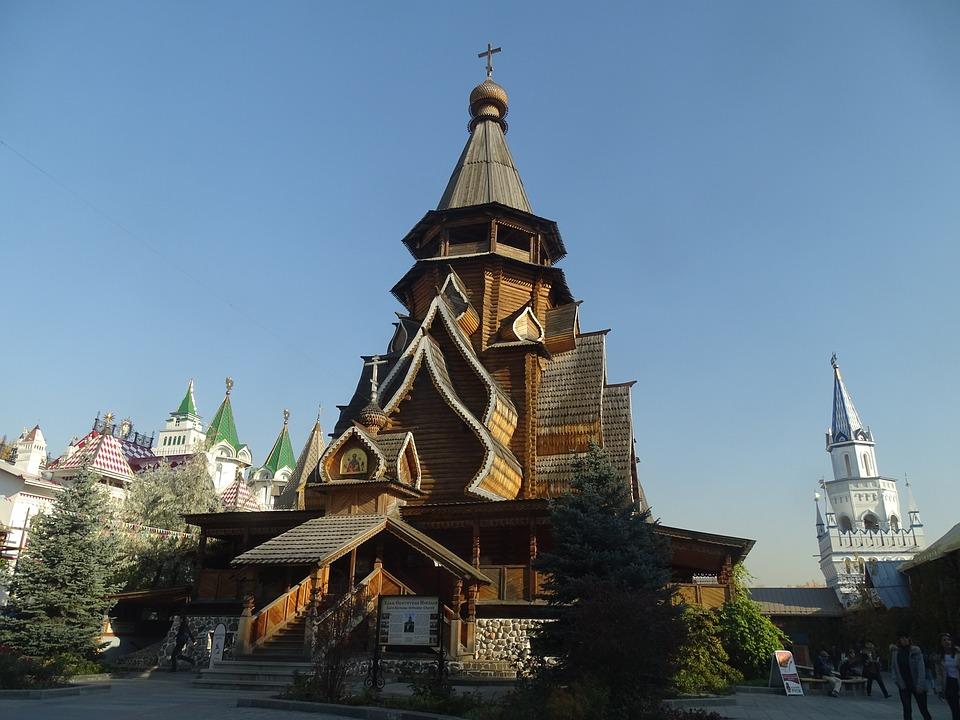 Architettura, Izmailovo, Mosca, Russia, Capitale