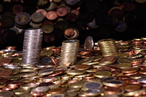 Argent, Pièces De Monnaie, Monnaie