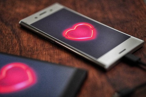 Love, Connection, Phone, Mobile, Dating