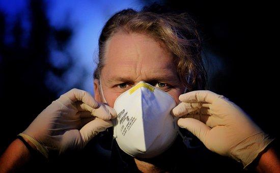 Stoffmasken, Virus, Corona